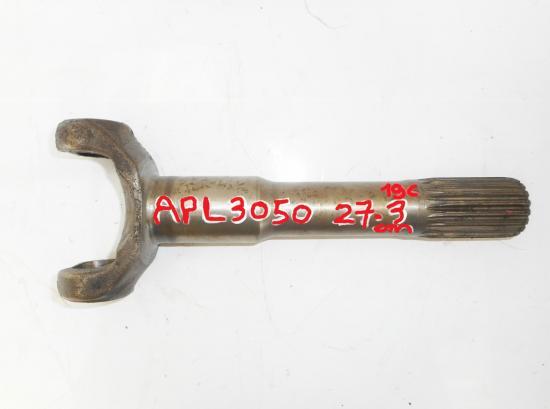 Arbre de pont avant zf 4x4 tracteur fendt ih international apl3050 apl 3050 27 3cm