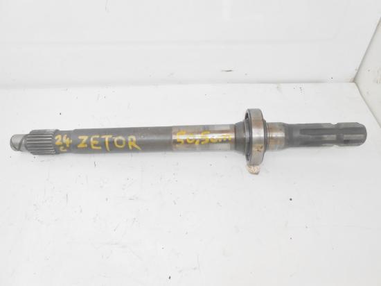 Arbre de prise de force tracteur zetor 50 5cm