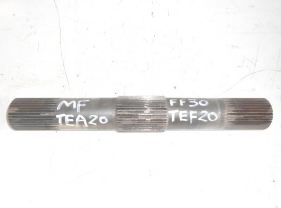 Arbre de relevage tracteur massey ferguson mf tea20 tea 20 ff30 ff30ds tef20 tef 20 petit gris