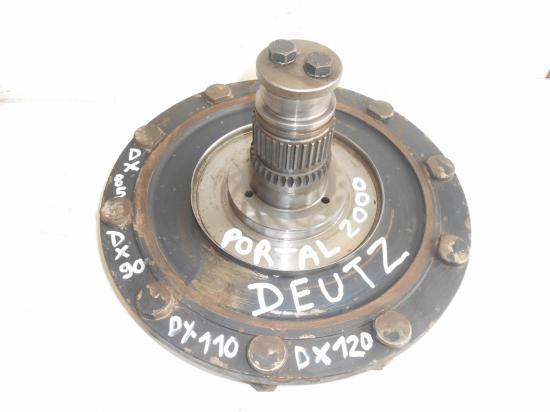 Arbre de roue pont avant tracteur deutz dx85 dx90 dx110 dx120 portal 2000
