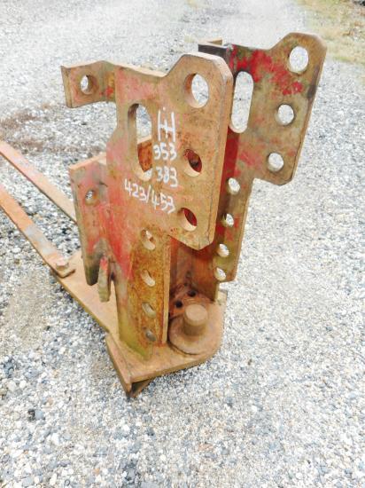 Attelage piton fixe tracteur international ih mc cormick 353 383 423 453
