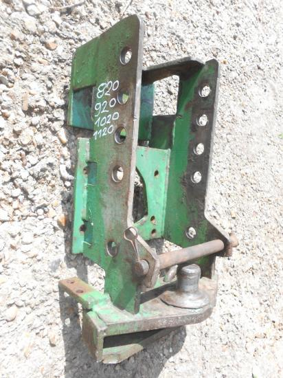 Attelage piton tracteur john deere 820 920 1020 1120