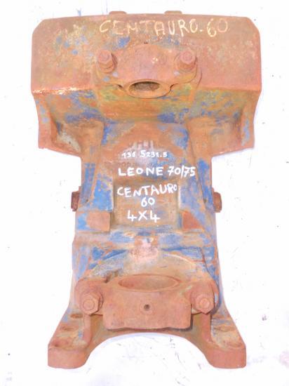 Berceau support pont avant tracteur same centauro leone 70 75 4x4