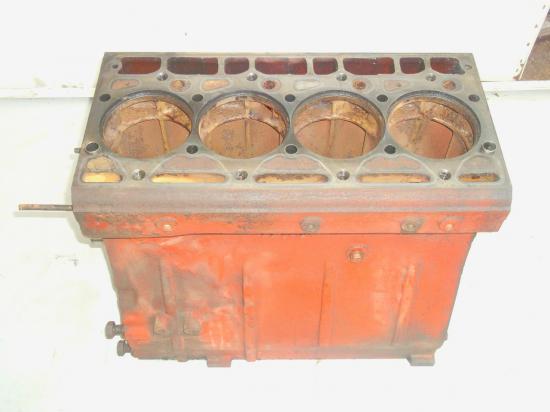 Bloc moteur ih international 4 cylindres tracteur agricole