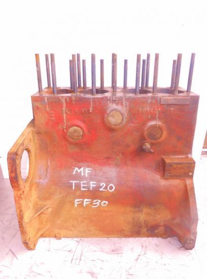 Bloc moteur tracteur massey ferguson mf ff30 ds ff30ds tef20 4 cylindres diesel