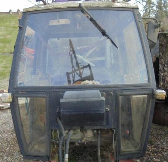Cabine tracteur david brown 1690 1