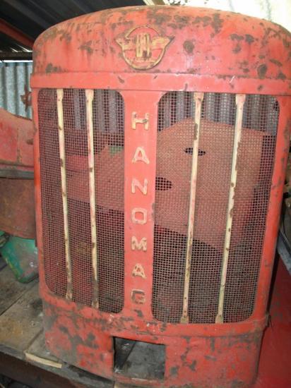 Calandre hanomag tracteur