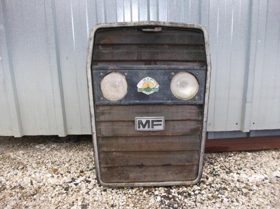 Calandre tracteur massey ferguson mf 250
