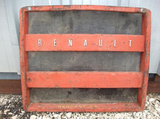 Calandre tracteur renault 96 r96
