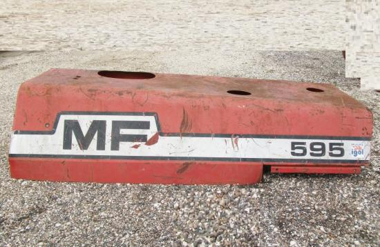 Capot moteur tracteur massey ferguson mf 595
