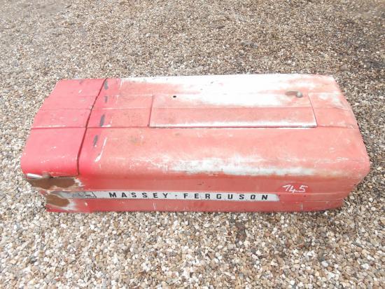Capot tracteur massey ferguson mf 140 145