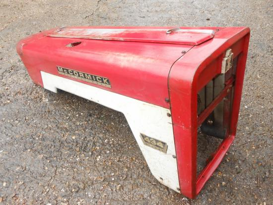 capot tracteur mc cormick international 434 b434