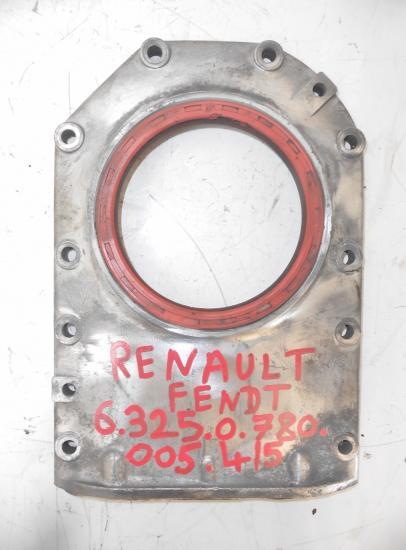 Carter etancheite plaque palier joint vilebrequin tracteur agricole moteur mwm renault fendt