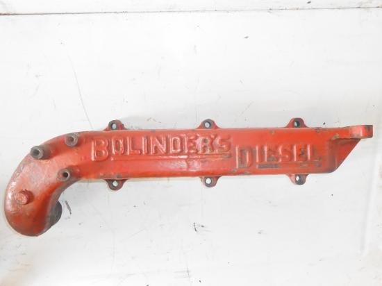 Collecteur admission tracteur bolinder munktell bm 36