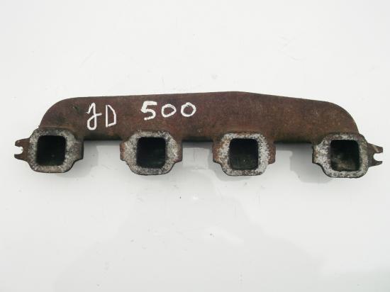 Collecteur echappement piece tracteur john deere lanz 500 700