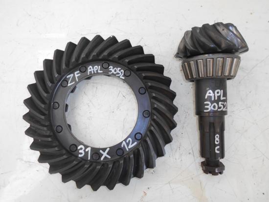 Couple conique differentiel pont avant 4x4 tracteur apl 3052 apl3052