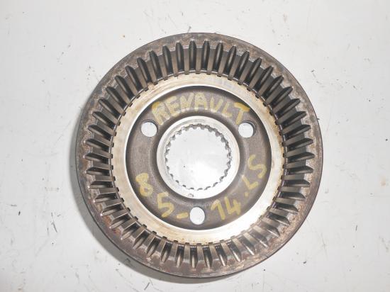 Couronne dentee moyeu reducteur pont avant 4x4 tracteur renault 8514 85 14ls 85 14 ls