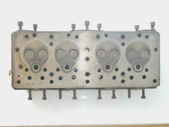 Culasse tracteur mf massey ferguson 4 cylindres petit gris diesel ff30 ff 30 ds ff30ds tef20 tef 20 d