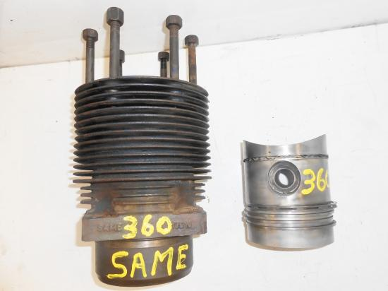 Cylindre chemise piston tracteur same 360
