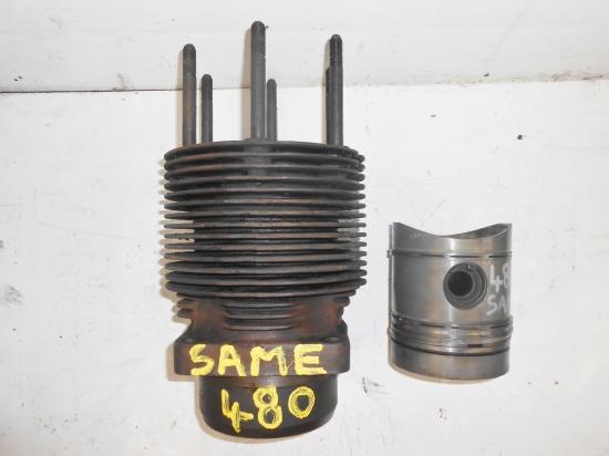 Cylindre chemise piston tracteur same 480 ariete