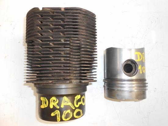 Cylindre chemise piston tracteur same drago 100