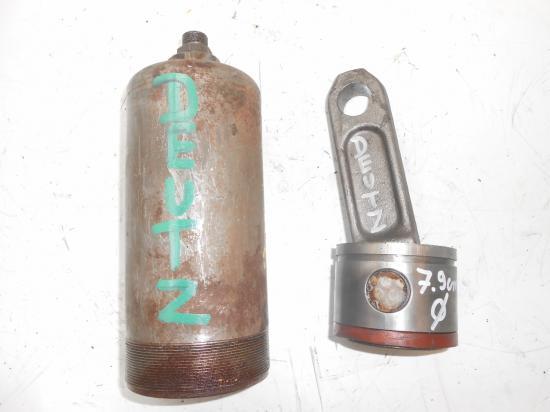 Cylindre verin chemise piston bielle de relevage tracteur deutz 79mm