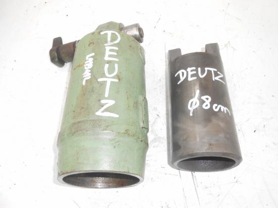 Cylindre verin chemise piston de relevage tracteur deutz 80 mm