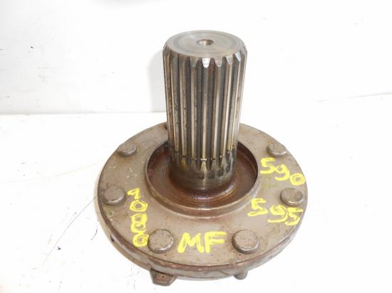 Demi arbre de roue tracteur massey ferguson mf 590 595 1080