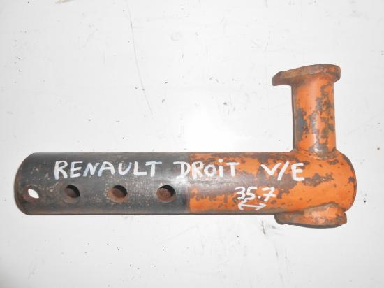 Demi train avant droit tracteur renault verger vigneron d22 d30 d35 n70 n71 n72 super 5 6 7
