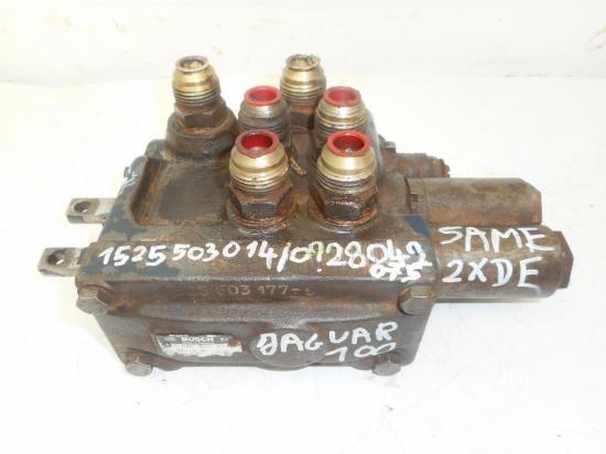 Distributeur hydraulique 2 double effets tracteur same jaguar100 jaguar 100