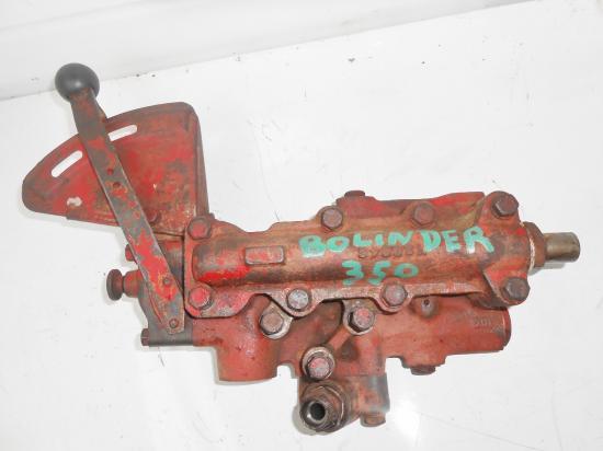 Distributeur hydraulique de relevage tracteur volvo bolinder bm 350