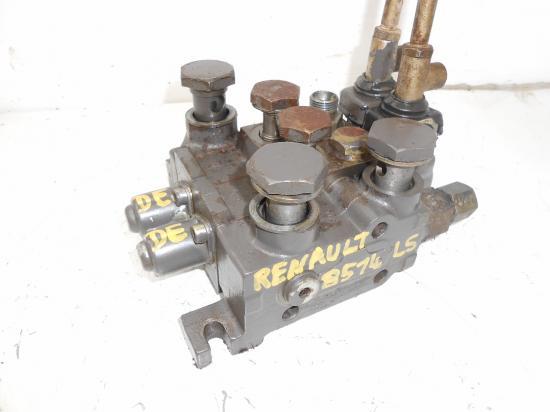 Distributeur hydraulique double effets tracteur renault 8514 ls