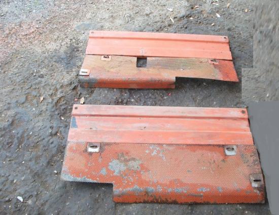 Grilles et toles flancs de capot tracteur renault 92 94 96