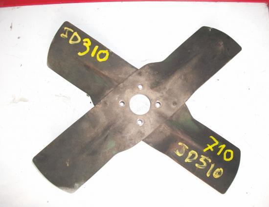 helice ventilateur pale tracteur john deere jd 310 510 710