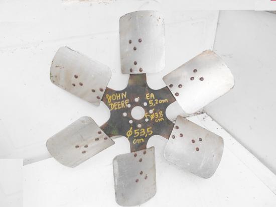 Helice ventilateur pale pompe a eau tracteur john deere 4230
