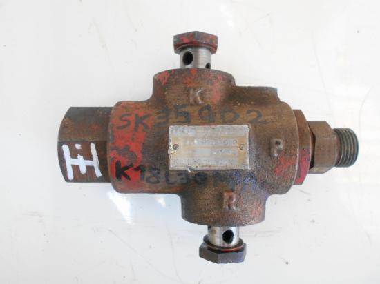 Limiteur de pression hydraulique tracteur ih international 955 1055