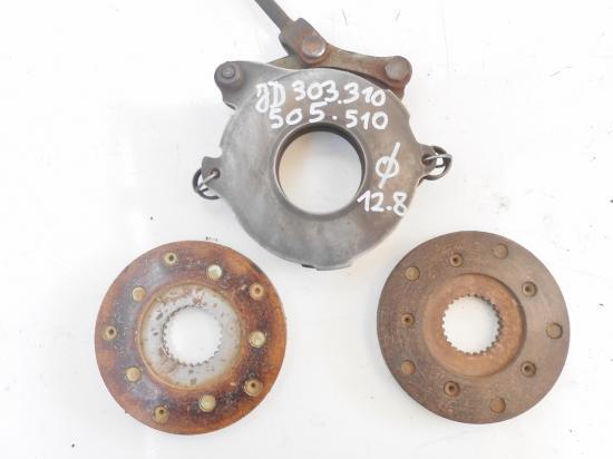 Mecanisme plateau disque de frein tracteur john deere 303 310 505 510