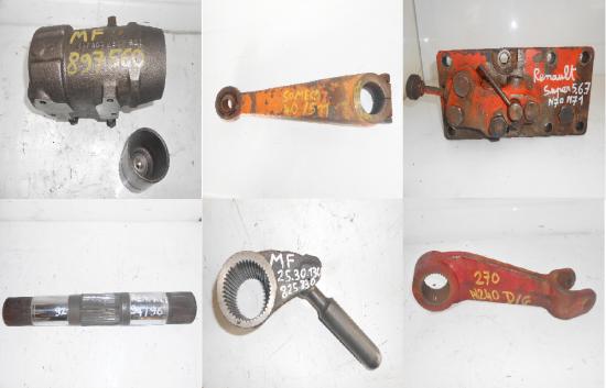 Pieces de relevage hydraulique tracteur agricole