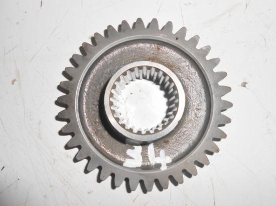 Pignon de boite de vitesse tracteur massey ferguson mf 25 30 130 825 830 34 dents