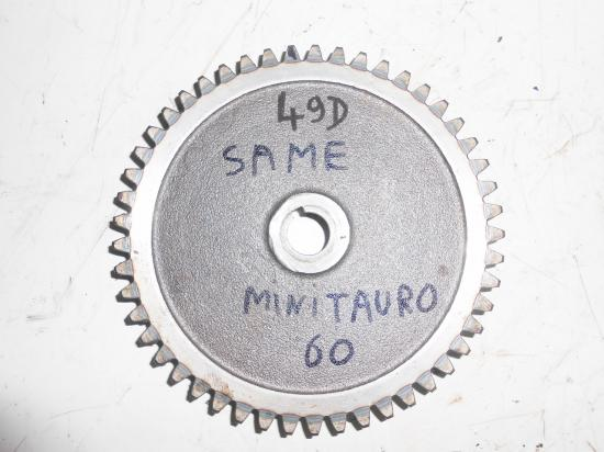 Pignon de boite de vitesse tracteur same minitauro 60 49 dents