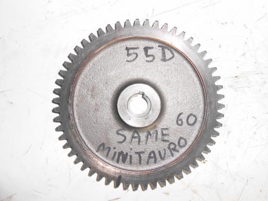 Pignon de boite de vitesse tracteur same minitauro 60 55 dents