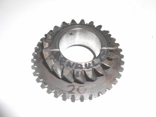 pignon de boite 20 dents tracteur renault d22 d30 d35 n70 n71 n72 super 5 6 7
