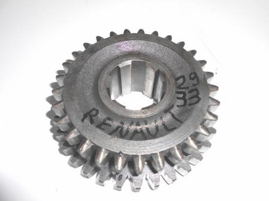 pignon de boite 29  33 dents tracteur renault d22 d30 d35 n70 n71 n72 super 5 6 7