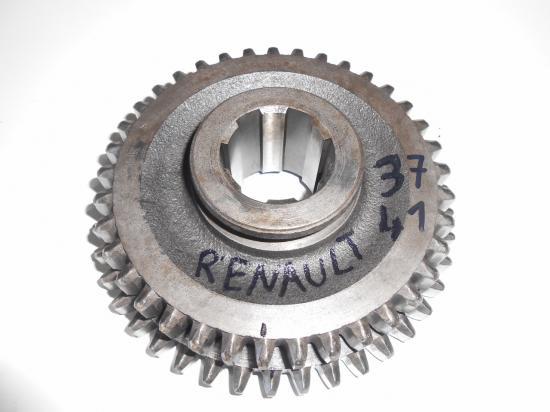 pignon de boite 37 41 dents tracteur renault d22 d30 d35 n70 n71 n72 super 5 6 7