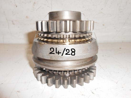 Pignons synchro de boite de vitesse tracteur massey ferguson mf 25 30 130 825 830 24 et 28 dents
