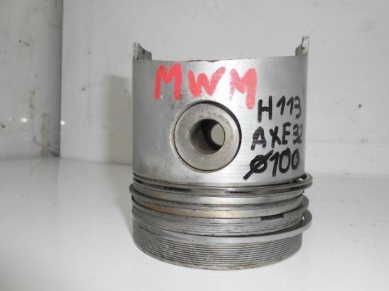 Piston tracteur renault fendt moteur mwm d226 d227 100mm 100 mm axe 32mm