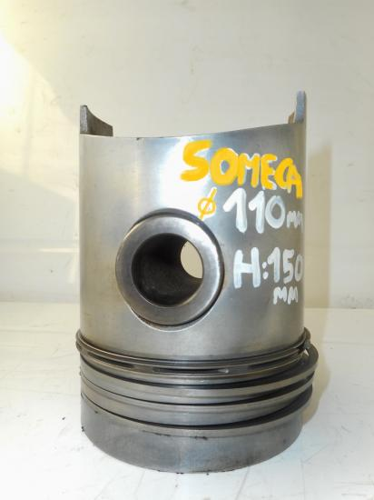 Piston tracteur someca 670 750 110mm h 150mm