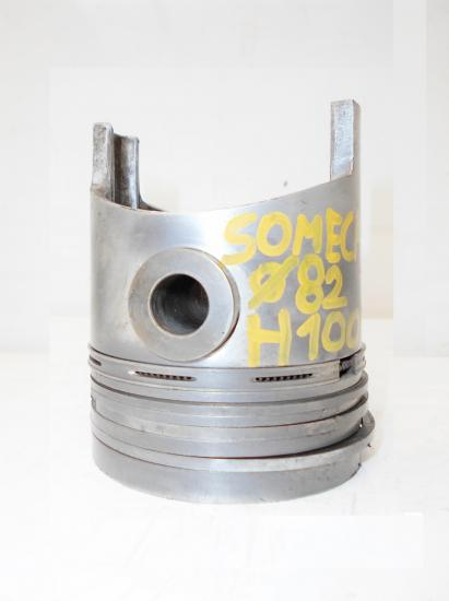 Piston tracteur someca fiat som 30b 30 312 315 82mm h100mm