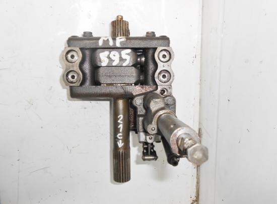 Pompe hydraulique relevage tracteur massey ferguson mf 595 21 cannelures