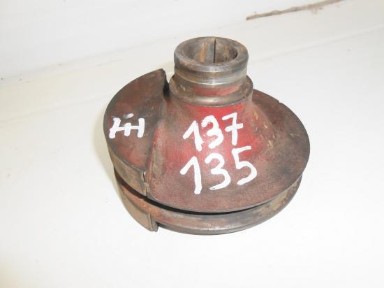 Poulie de vilebrequin moteur tracteur mc cormick utility farmall fu 135 137 f135 f137 d 135d 137d